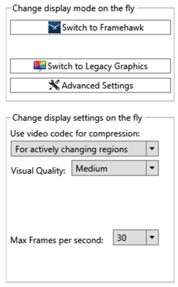 Preview RDanalyzer Change Settings