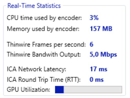 Preview RDanalyzer Statistics